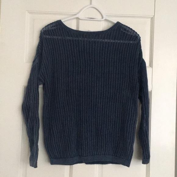 Katherine Barclay Sweaters - Katherine Barclay Montreal Open Stitching  Sweater 04caa4227